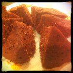 LCHF Chocolate Peanut Cake